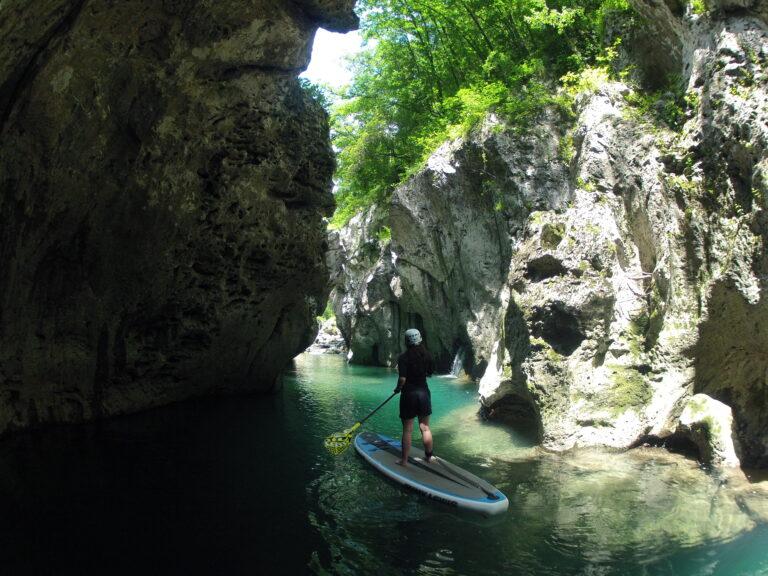 SUP in Cocciglia gorges